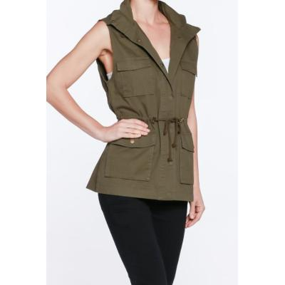 Hooded Safari Vest