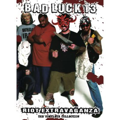 Bad Luck 13 Riot Extravaganza - The Complete Collection DVD