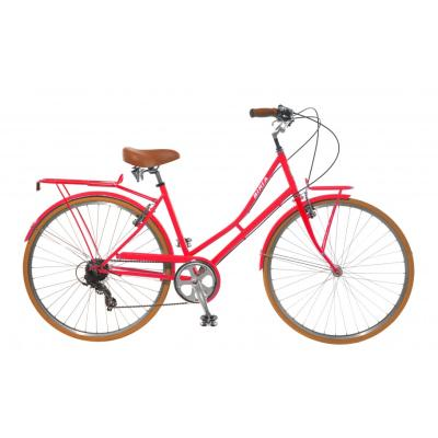 Biria Citibike Ladies 7 Speed Bicycle Red 44 cm / 17''