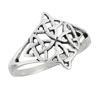 Ring: Celtic Quadruple Knot, SS