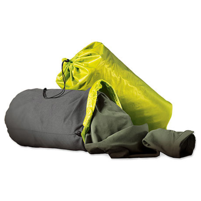 Stuff Sack Pillow - Limon/Gray