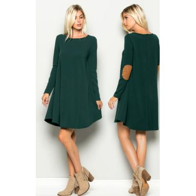 Becca Elbow Patch Dress