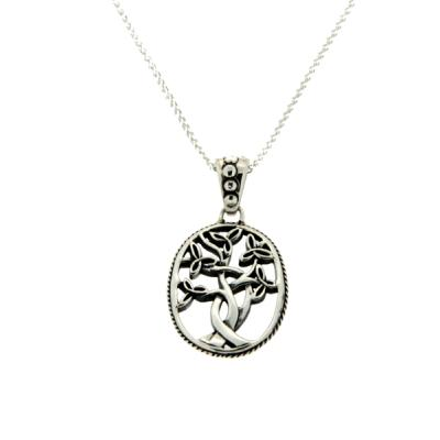 Pendant: Sterling Tree of Life, Sm