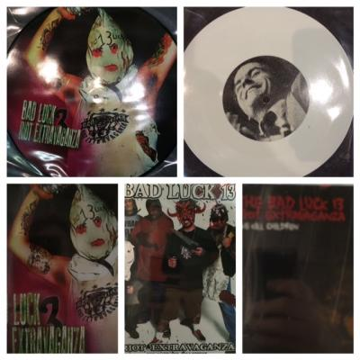 "Bad Luck 13 PACKAGE (DVD, Picture Disc, 7"" AND both CDs)"