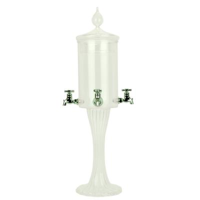 Absinthe Fountain Twisted Glass (4 spout)