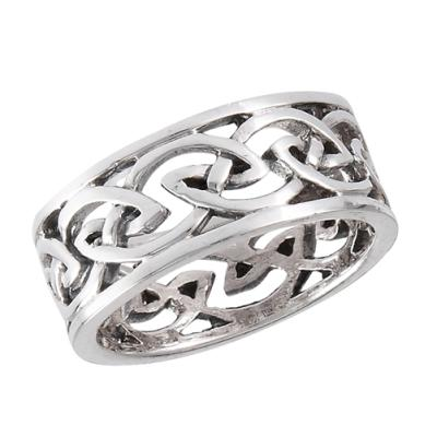 Ring: Eternity Knot Band, Open, SS