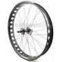 Alex Blizzerk PRO FRONT 135mm Novatec Fat Bike Wheel