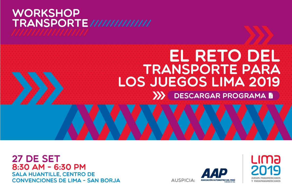 Workshop Transporte Lima 2019