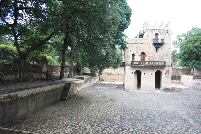 Fasiledes bath and bath-house