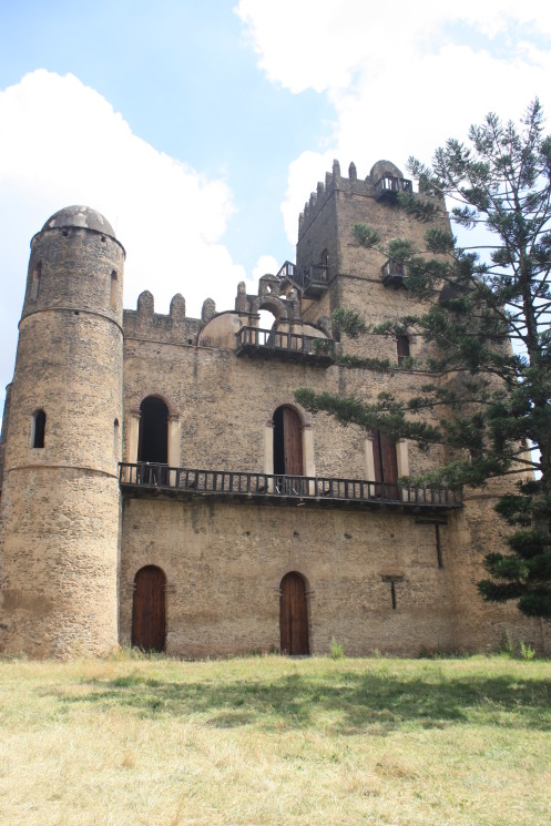 King Fasiledes castle – the most well-preserved on the site