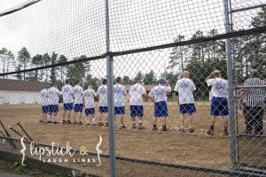 Snowshoe Baseball Lake Tomahawk