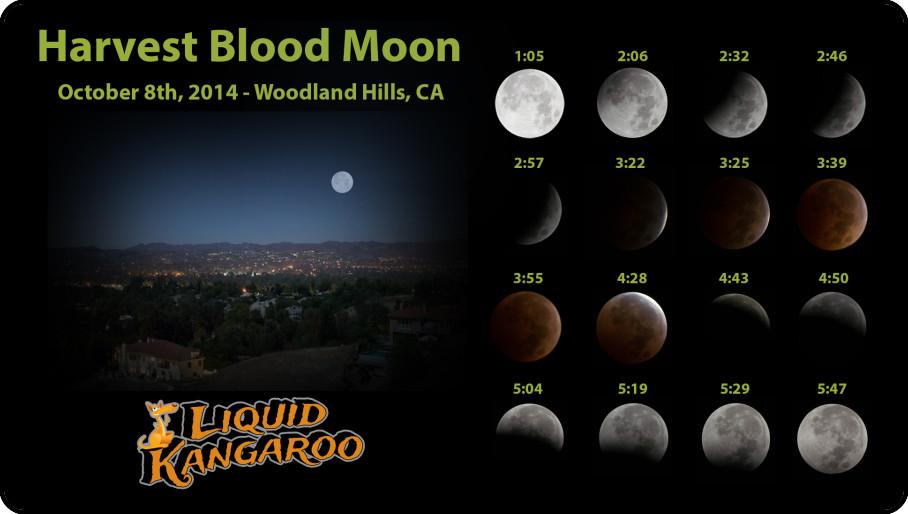 2014 Harvest Blood Moon