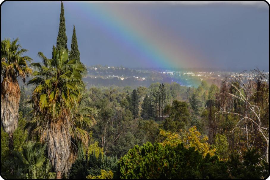 Rainbow Over Woodland Hills
