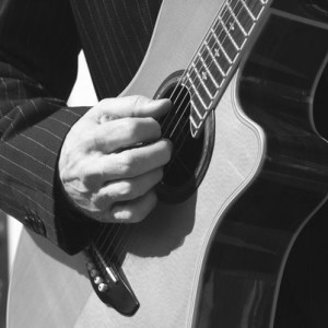 Don Lee - Playing Guitar Detail - Photography