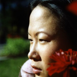 Neah Lee - Profile Portrait with Flower - Photography
