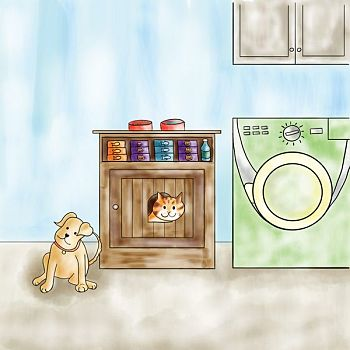 Illustration 29 from JJ Goes to Puppy Class - Digital Illustration