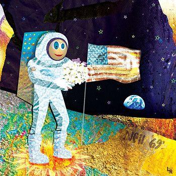 Walk on the Moon - Digital Illustration