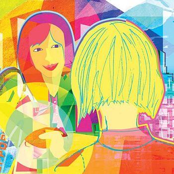 Illustration 4 for Barnard College OCD - Digital Illustration
