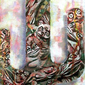 Arizona - Mixed Media Painting