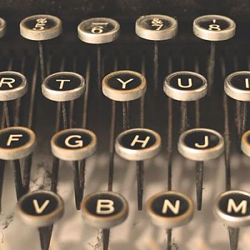 Vintage Typewriter - Photography