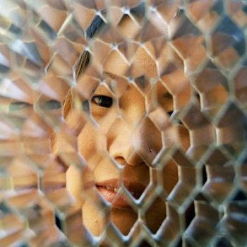 Neah Lee - Metal Grid Portrait - Photography