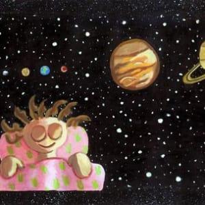 Illustration 1 from When Vega Sleeps - Acyrlic Painting