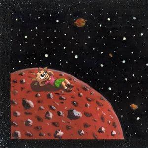 Illustration 4 from When Vega Sleeps - Acyrlic Painting