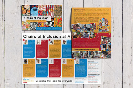 Chairs of Inclusion Double Fold Exhibit Brochure