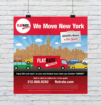 We Move New York Subway Poster