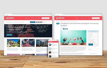 Custom Blog Design - Squarespace