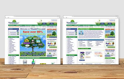 Front-end for Ecommerce Website