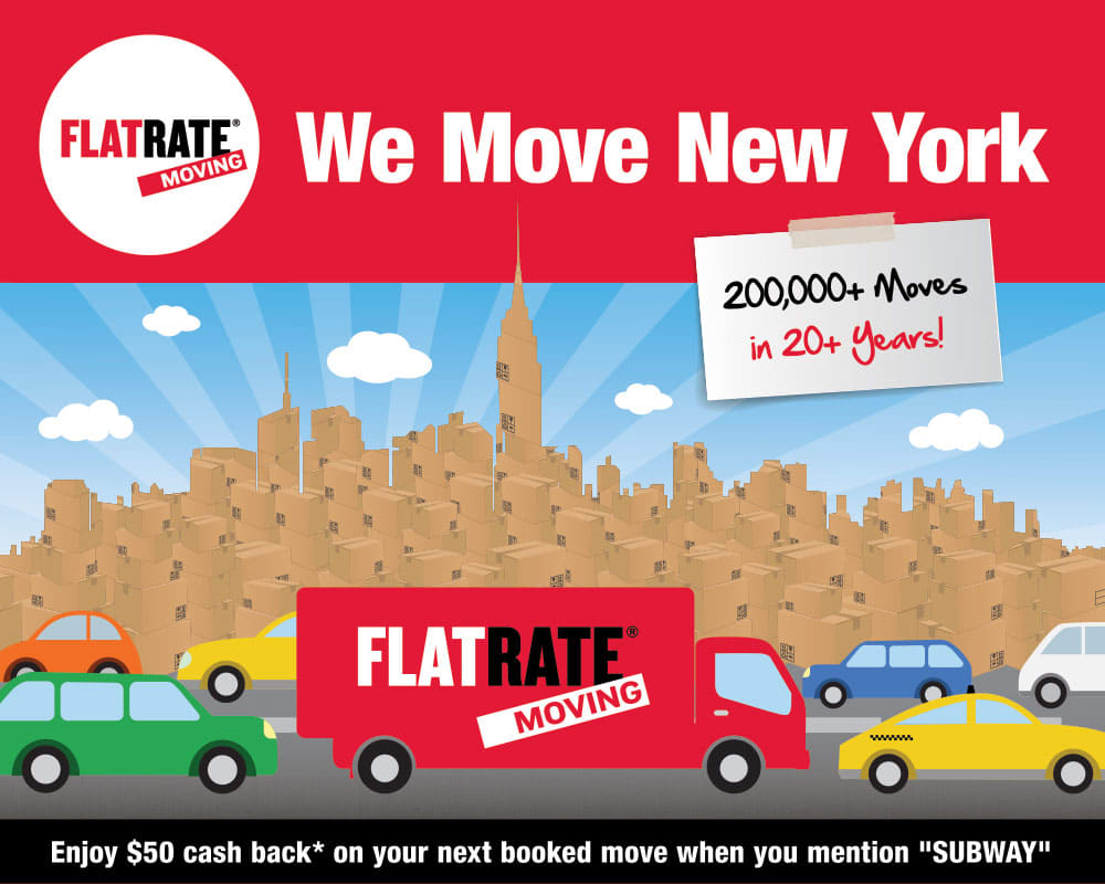 We Move New York - Subway Poster Design