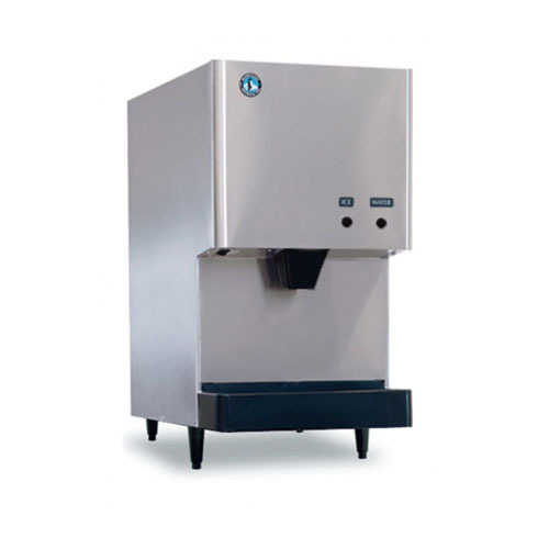 282 lb Countertop Ice and Water Dispenser