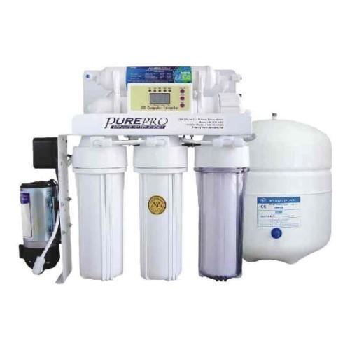 PurePro 5 Stage 80 Gallon Reverse Osmosis Water Purification System with Auto Flush and TDS Monitor