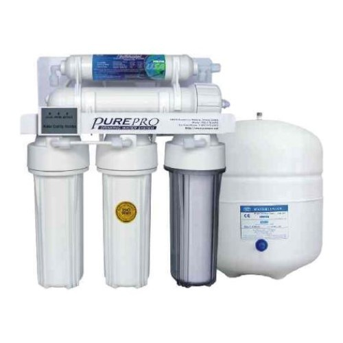 PurePro 5 Stage 80 Gallon Reverse Osmosis Water Purification System with TDS Monitor