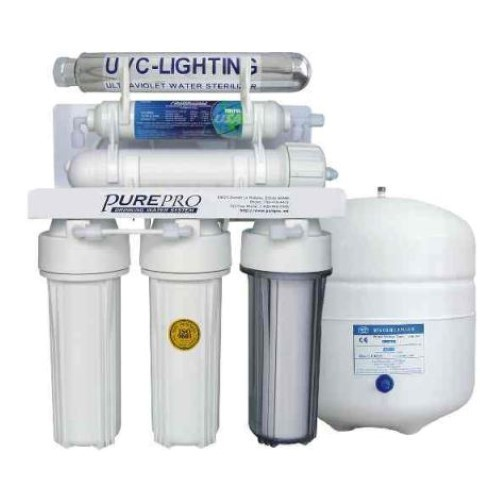 PurePro 5 Stage 80 Gallon Reverse Osmosis Water Purification System with Ultraviolet Sterilizer