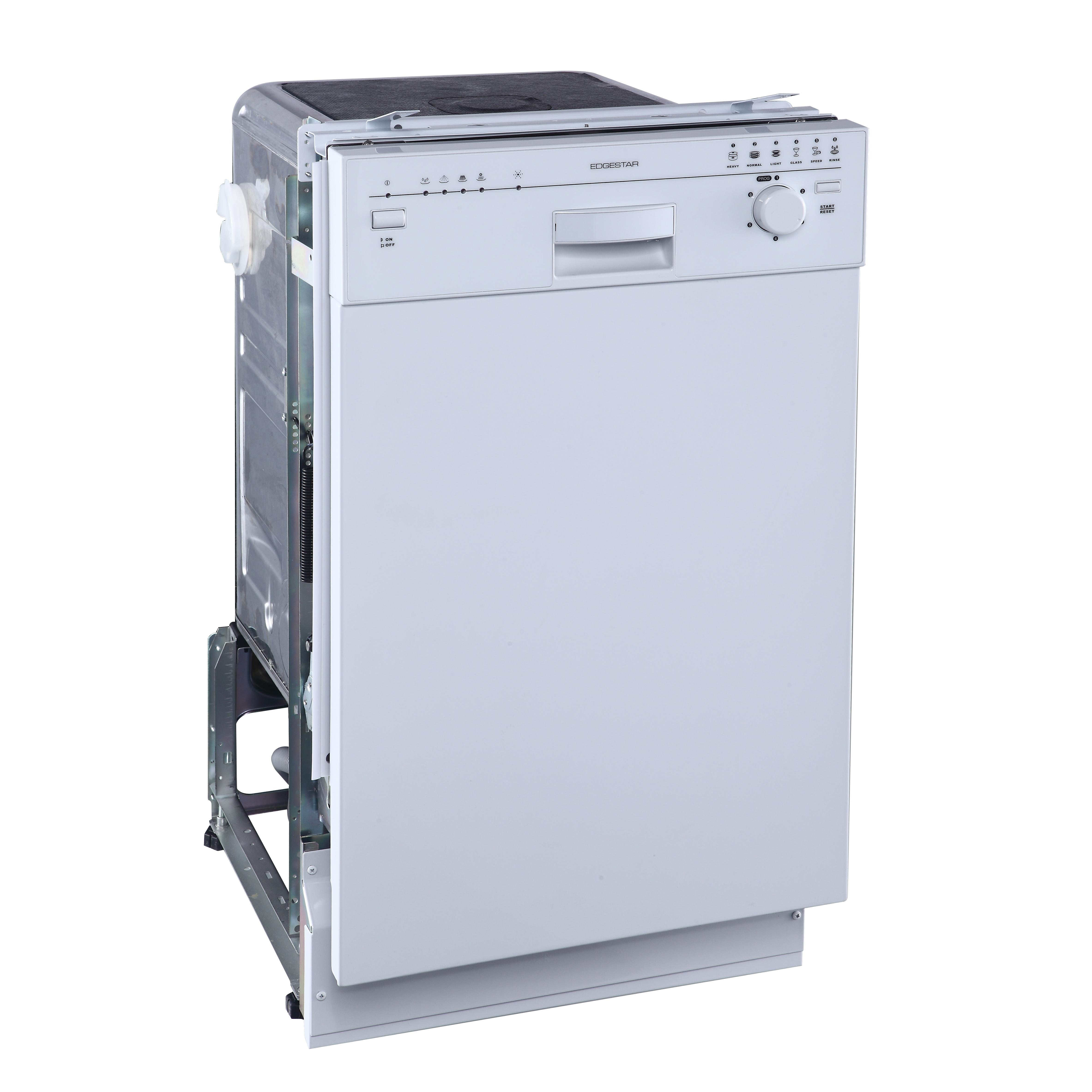 New Bidw1801w Edgestar 18 Built In Dishwasher White Ebay