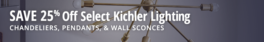 25% off Select Kichler Lighting