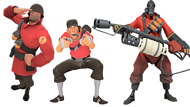 Team Fortress 2 offensive classes