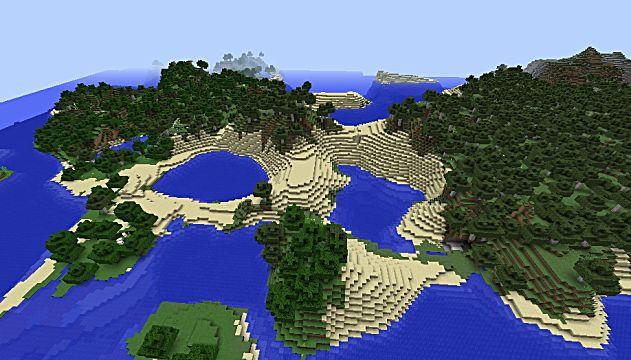 Heavenly island seed