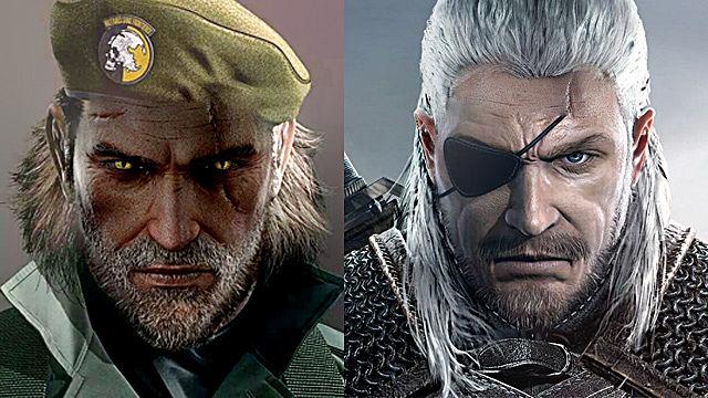 Solid Snake vs. Geralt of Rivia