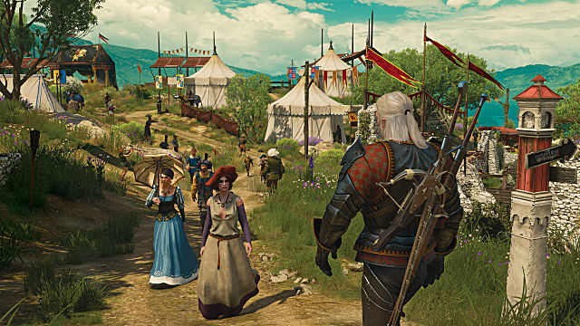 The Witcher 3: Wild Hunt - Blood and Wine toussaint