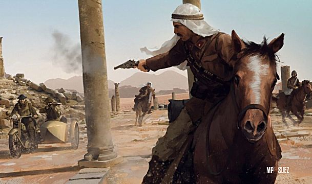 Raid on the Suez Canal Battlefield 1