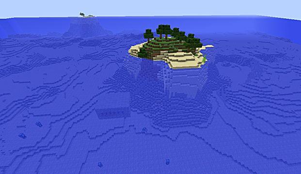 End portal island seed