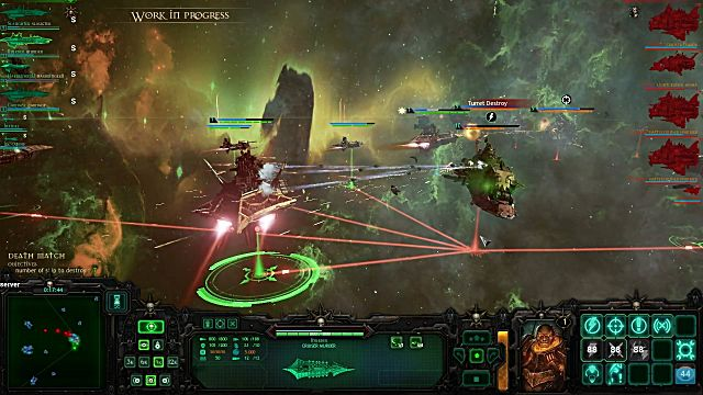Battlefleet Gothic: Armada battle