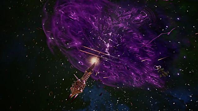 Battlefleet Gothic Armada space travel