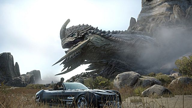 Final Fantasy XV giant boss
