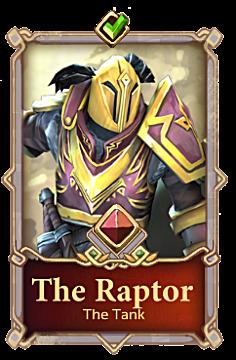 Chronicle: RuneScape Legends raptor