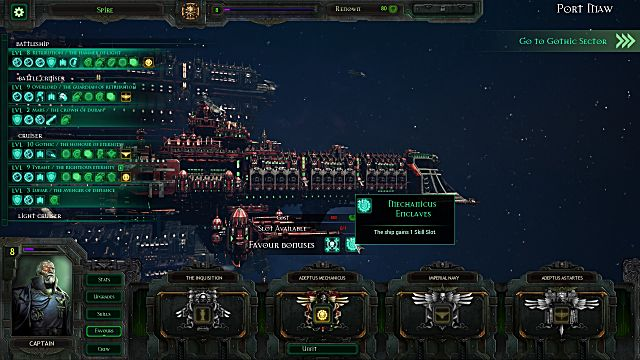 Battlefleet Gothic: Armada shipyard