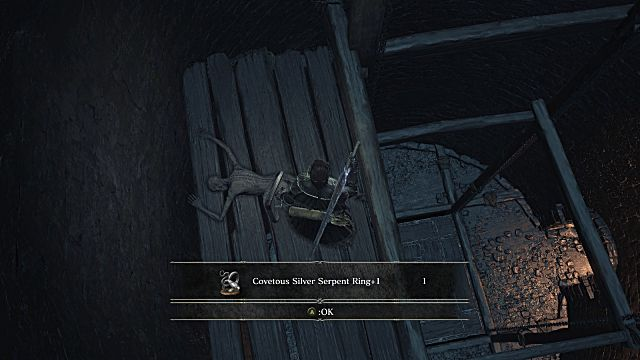 how to get to bottom of giant in irithyll dungeon